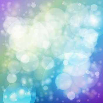 Vector blue color abstract background with bubbles - Free vector #125908