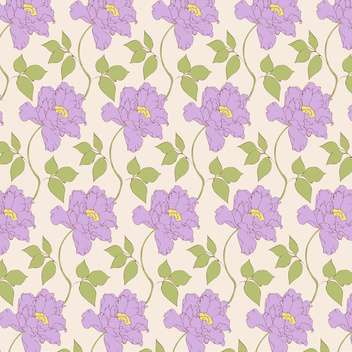 Vector vintage background with floral pattern - vector #126598 gratis