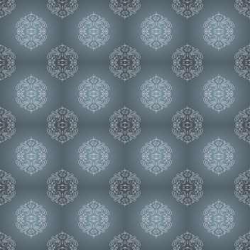 Vector vintage background with art floral pattern - Free vector #127028