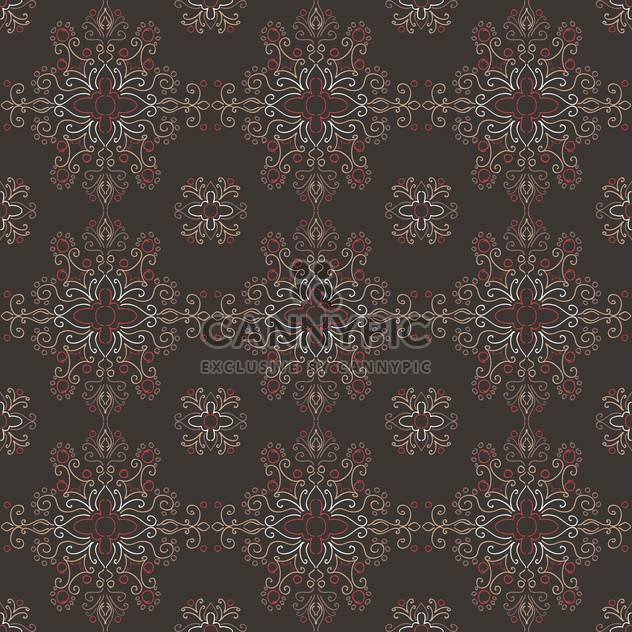 Vector colorful vintage art dark background - Free vector #127218