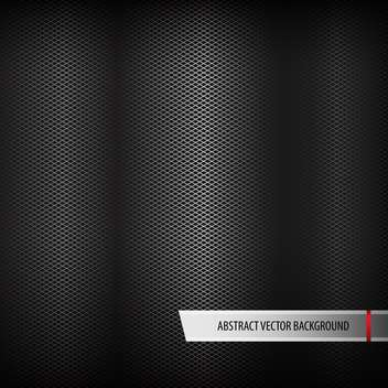 Abstract metal black color background - vector #127948 gratis