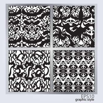Vector set of abstract backgrounds. - бесплатный vector #128738