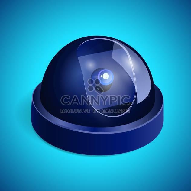 Videoüberwachung Kamera Abbildung - Kostenloses vector #129178