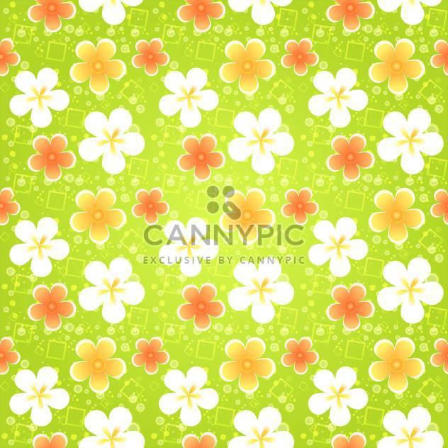 Nahtlose Blümchenmuster Frühling mit Blumen - Kostenloses vector #130068
