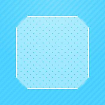 Blue photo frame corners background - vector gratuit #130378