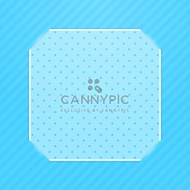 Blue photo frame corners background - Free vector #130378