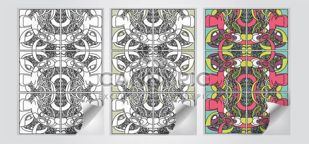 Vektor festgelegt, der Kunst-Banner - Free vector #130678