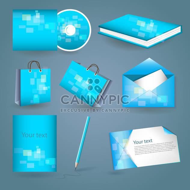 Satz von Vorlagen corporate identity - Kostenloses vector #131118