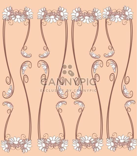Floral Design-Elemente-Vektor-illustration - Free vector #131278