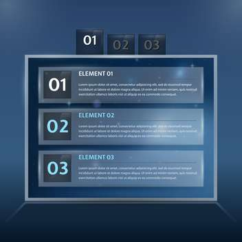 Modern web design template illustration - vector gratuit #131318