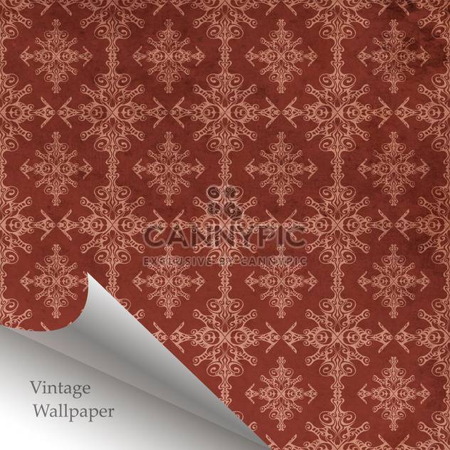 Vector abstract retro pattern with folded corner - Free vector #131638