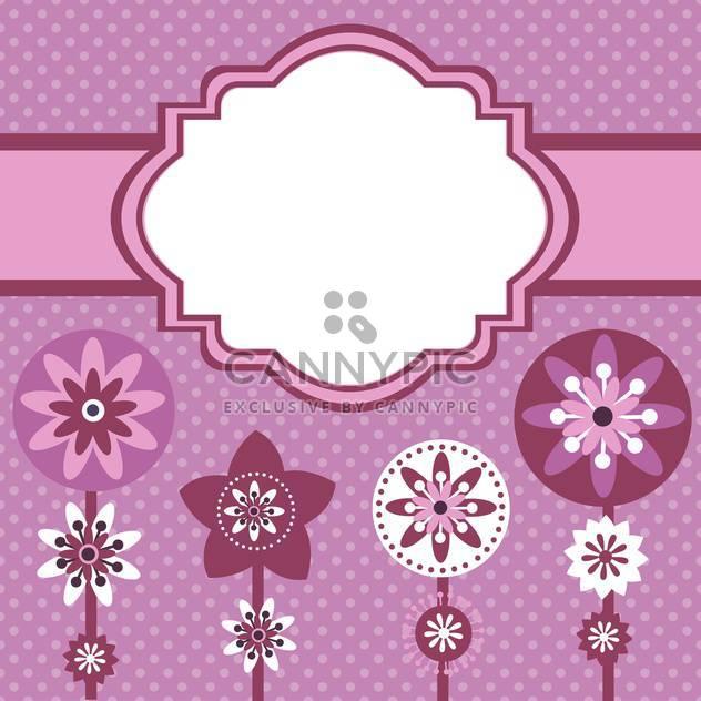 Vektor-Sommer-Blumen-Hintergrund - Free vector #132488