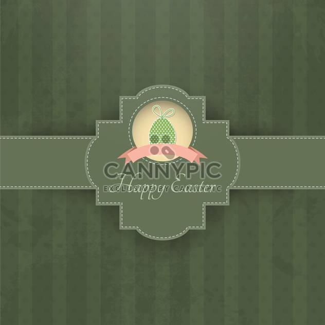 vintage background for happy easter holiday - Free vector #132628