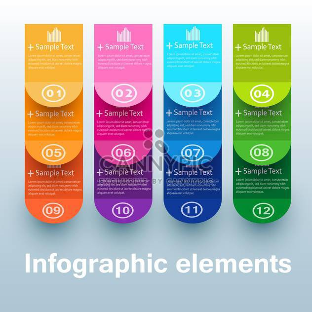 business option numeric banners - Free vector #132728