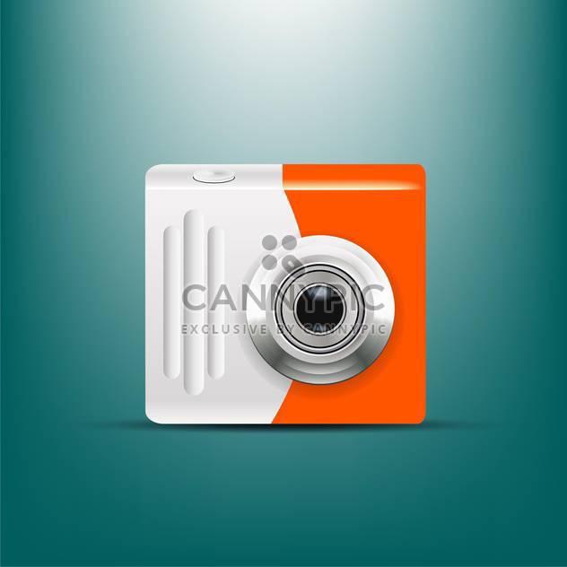Kamera-Symbol-Vektor-illustration - Free vector #133008