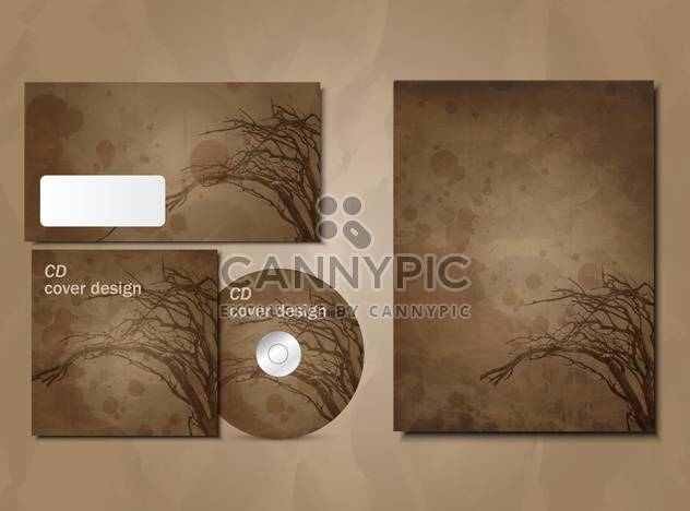 selected corporate templates background - Free vector #133258