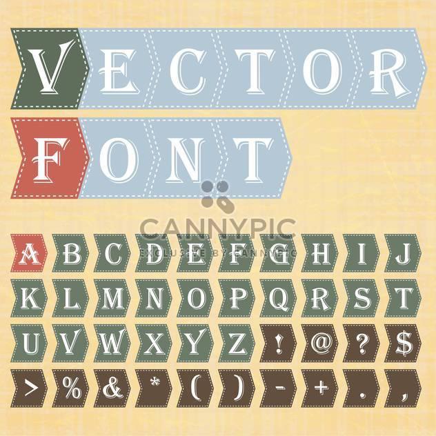 Vektor Bildung Alphabet Buchstaben Satz - Kostenloses vector #133478
