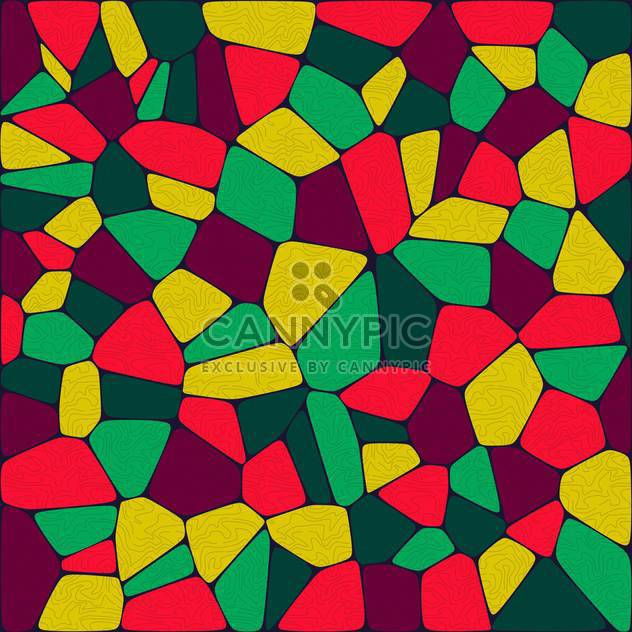 abstract artistic colorful tiles background - Free vector #133768