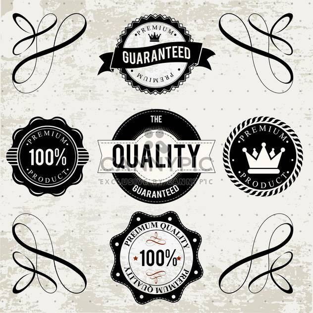 collection of high quality labels - Free vector #133938