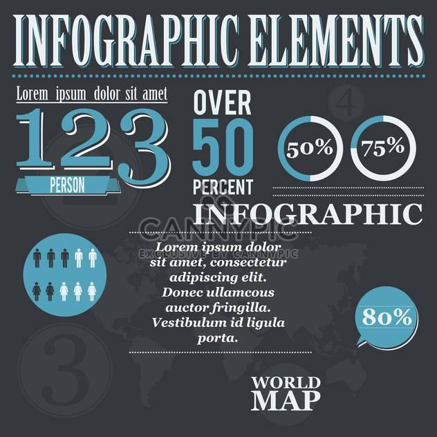abbildung abstrakt Business Infographik Satz - Free vector #134398
