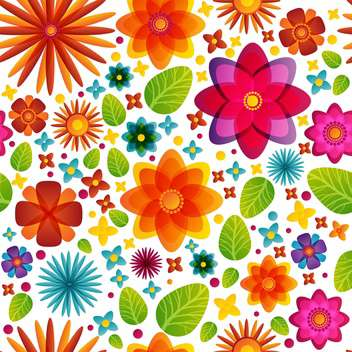 spring blooming flowers background - vector gratuit(e) #134548