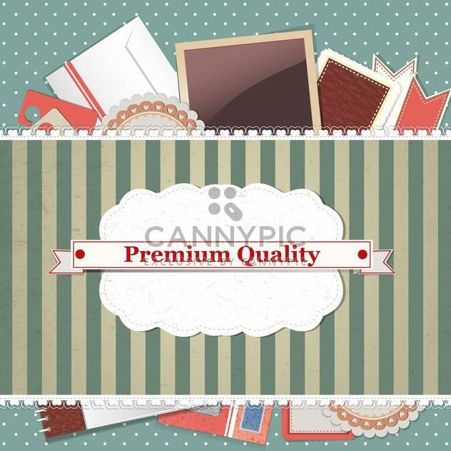 Premium Qualität Jahrgang Hintergrund - Kostenloses vector #134678