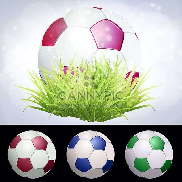 stadium soccer ball vector illustration - Free vector #134768