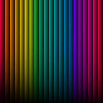 Vector background with colorful stripes - vector gratuit #125888