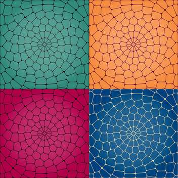 Vector illustration of colorful artistic mosaic background - vector gratuit #125928