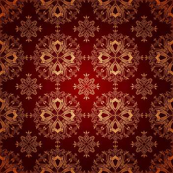 Vector vintage red color floral background - vector #126008 gratis