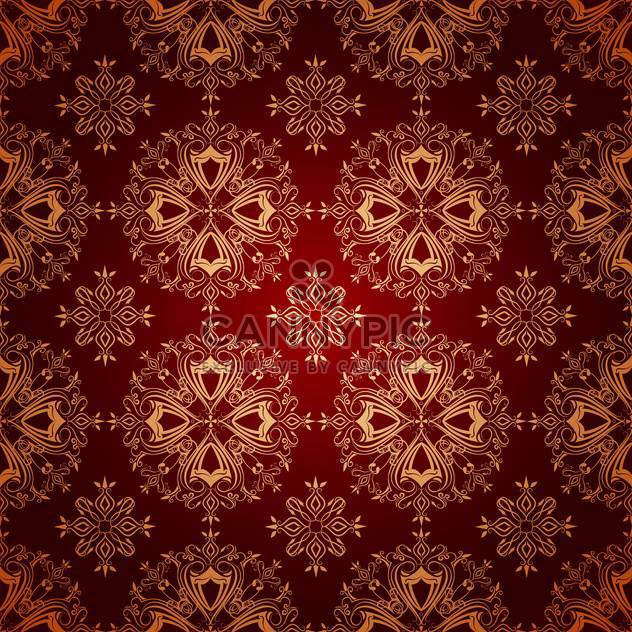 Vector vintage red color floral background - Free vector #126008