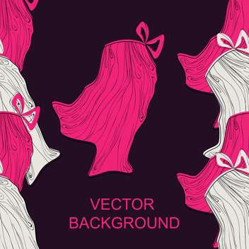 Vector colorful background with fashion female skirts - vector #126668 gratis