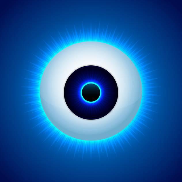 t l chargement du vecteur gratuit vecteur couleur oeil design sur fond bleu 127058 cannypic. Black Bedroom Furniture Sets. Home Design Ideas