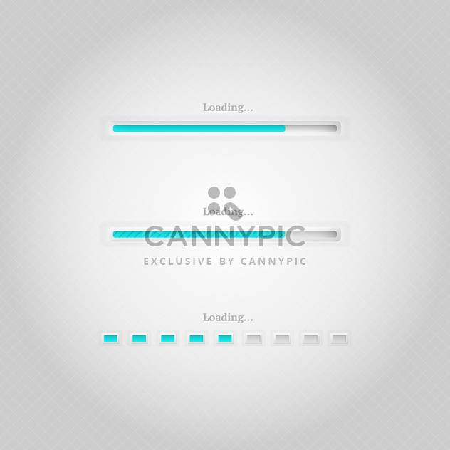 vector loading bars background - Free vector #130268