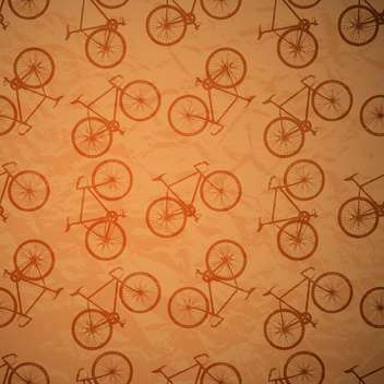 bicycles seamless retro vector pattern - vector #130508 gratis