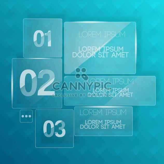 vector background with transparent glass plates - Kostenloses vector #130578