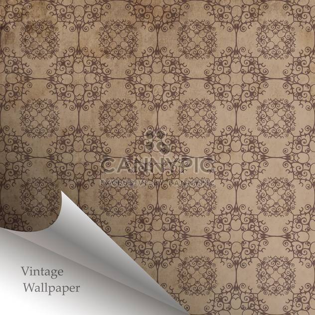Vector wallpaper design with folded corner - Free vector #130858