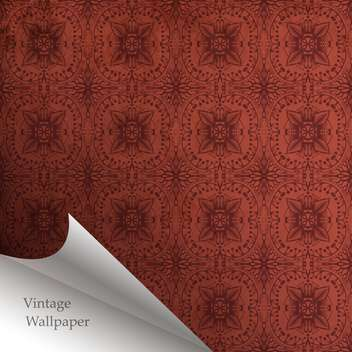 Vector wallpaper design with folded corner - vector #130868 gratis