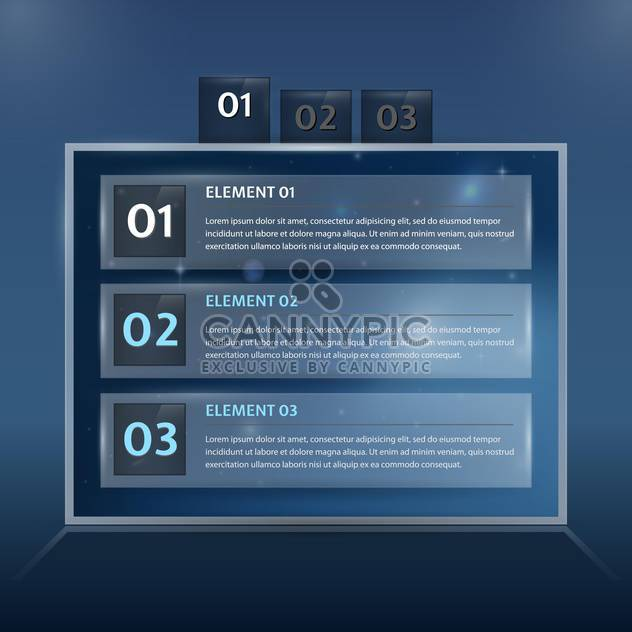 Modern web design template illustration - Free vector #131318