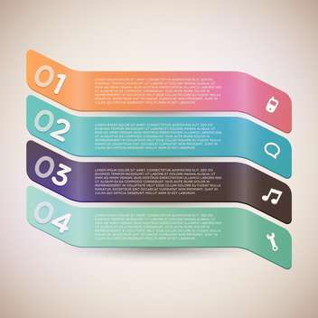 Vector business tags on grey background - vector gratuit #131398