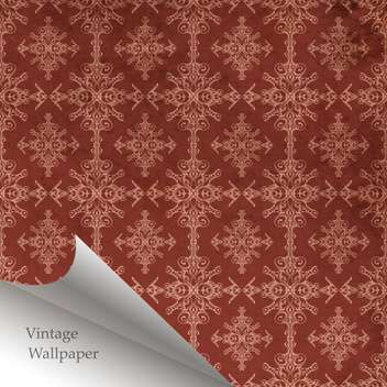 Vector abstract retro pattern with folded corner - vector gratuit #131638