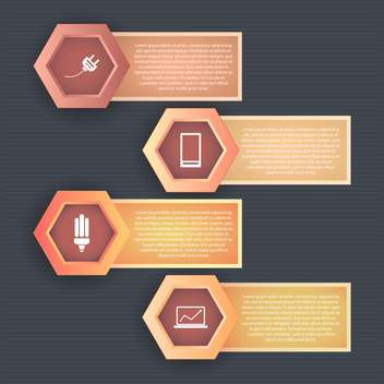 Set of icons on a theme communication vector illustration - vector #131988 gratis