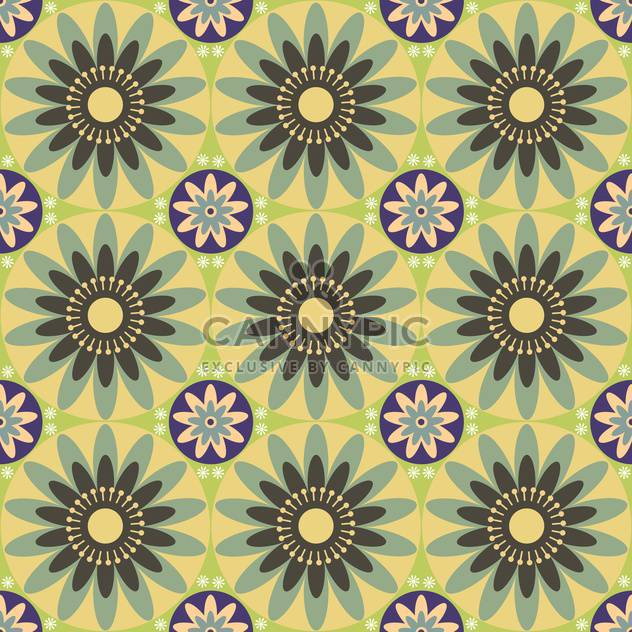 Green vector floral background - Free vector #132078