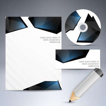 Selected corporate templates, vector Illustration - бесплатный vector #132428