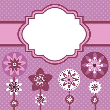 vector summer floral background - Free vector #132488