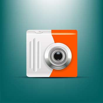 camera icon vector illustration - Free vector #133008