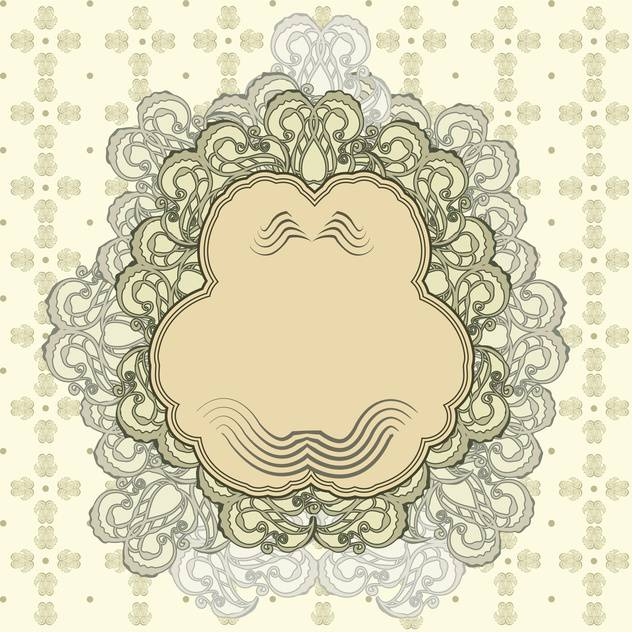 vector set of vintage frame background - vector #133758 gratis