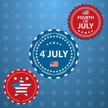 american independence day background - vector gratuit #133888