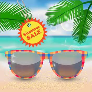 summer shopping sale illustration - бесплатный vector #133988