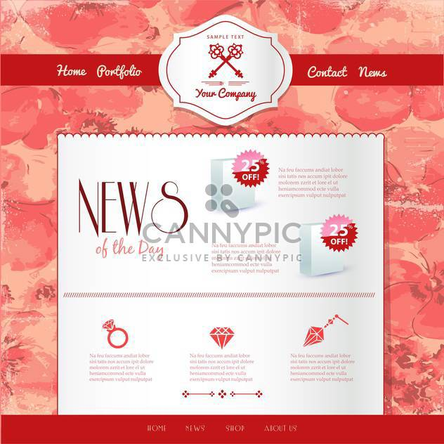 website templates internet background - Free vector #134188